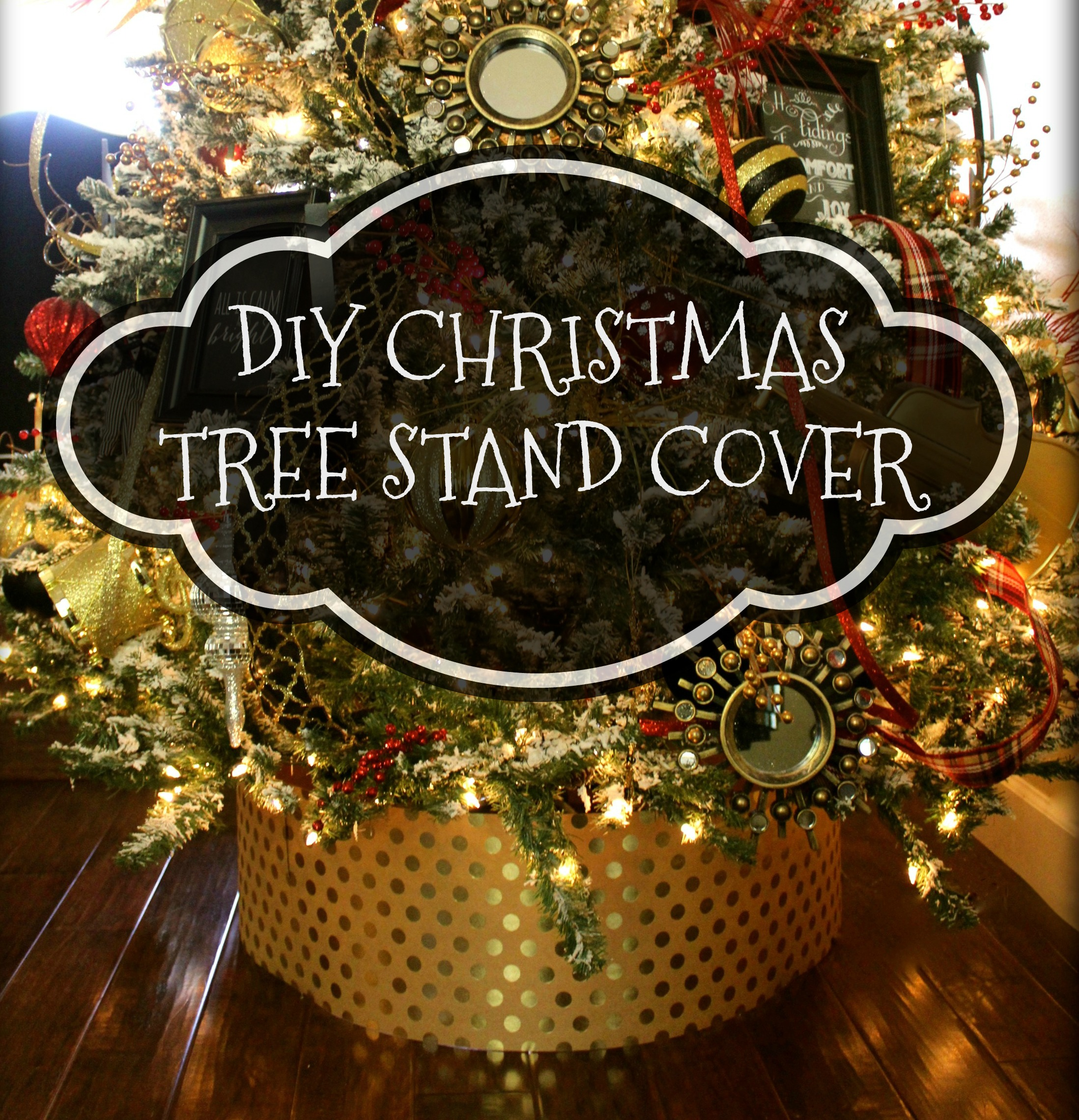 DIY Christmas Tree Stand Cover – Beautiful in Every Way